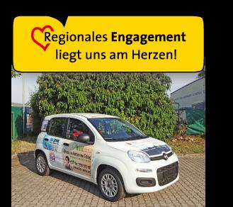 Regionales Engagement liegt uns am Herzen
